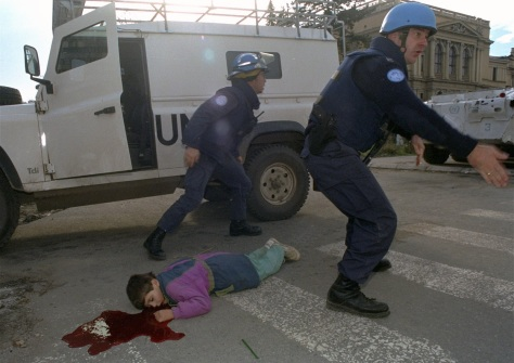 Sarajevo '92 siege - djeca zrtve snajpera
